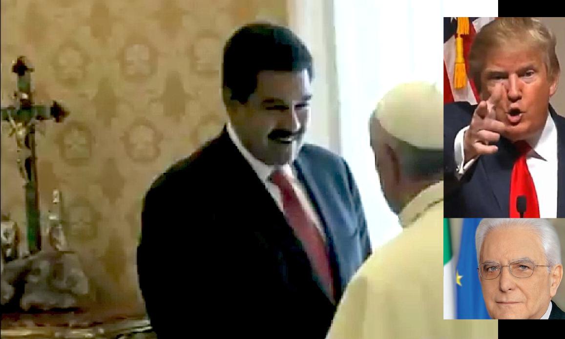 VENEZUELA: LO STATISTA INVOCA CRISTO, I PRESIDENTI LA GUERRA