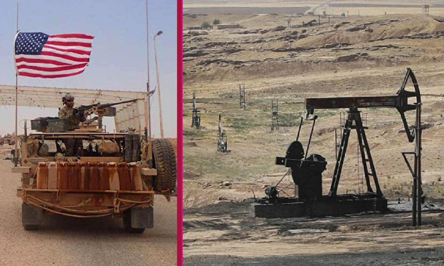 SYRIA: THE US CRIMINAL SCHEME FOR SMUGGLING OIL