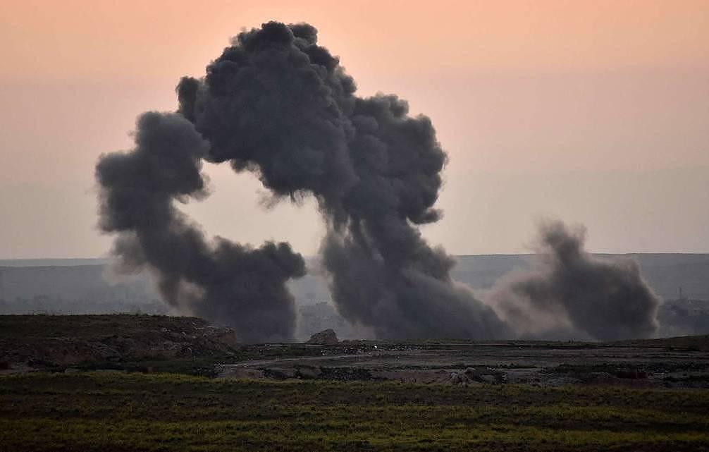 ISRAEL ON WAR WITH LEBANON  US AIRSTRIKES BREAK CEASEFIRE IN