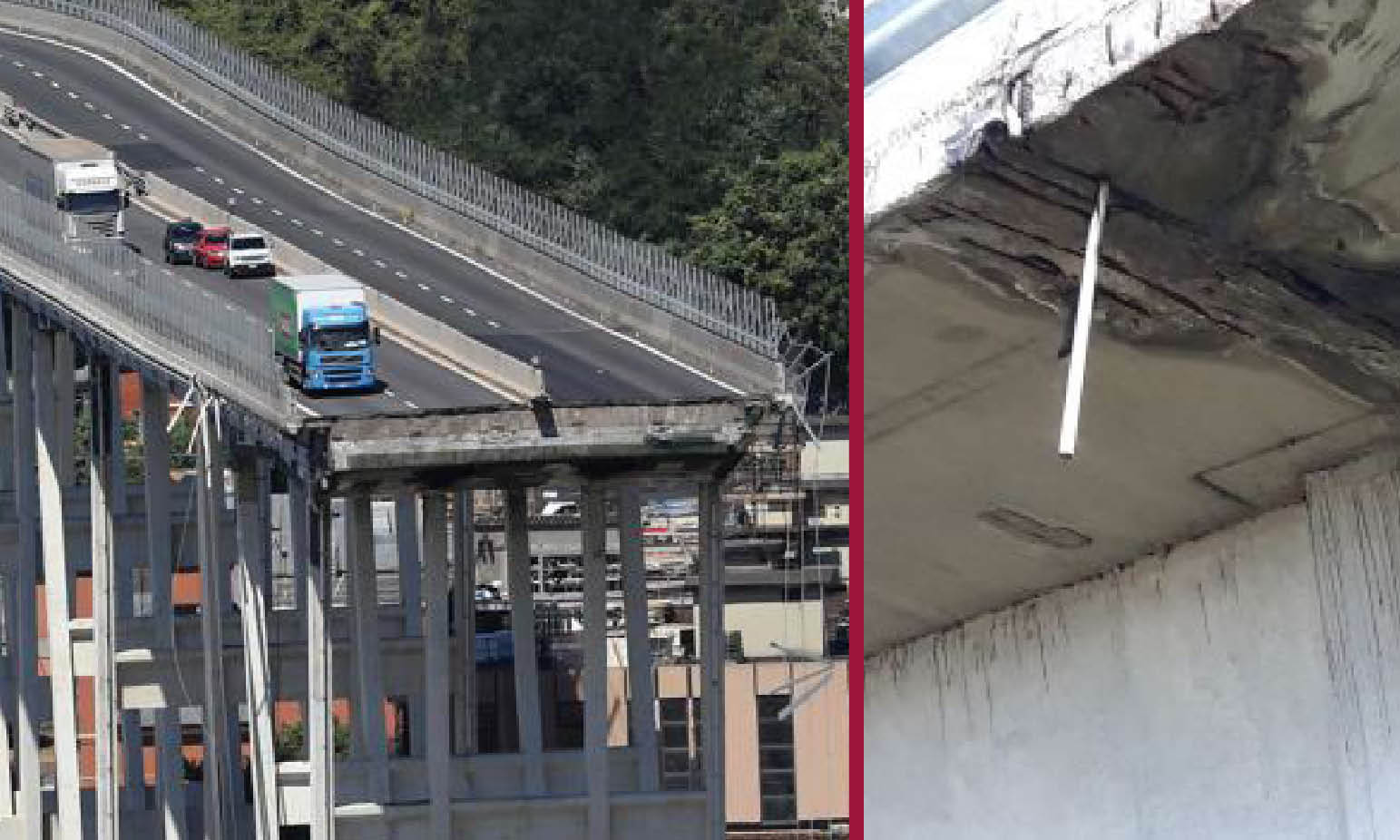 ITALY HIGHWAYS ALERT: FALSE REPORTS FOR DANGEROUS BRIDGES, 3 ARRESTS