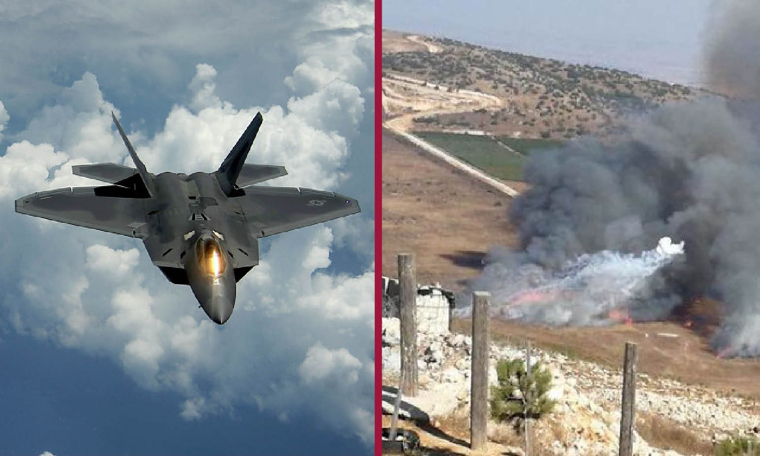 ISRAEL ON WAR WITH LEBANON. US AIRSTRIKES BREAK CEASEFIRE IN SYRIA
