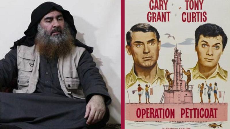 As in a movie: Al Baghdadi framed by US intelligence for underwear