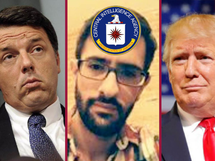 UKRAINEGATE, CIA-DEEP STATE'S PLOT AGAINST TRUMP with two whistleblowers and Italian ties