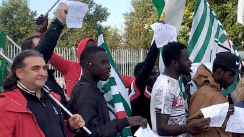 """Racist sentences at work"": 20 Senegales workers ""fired"" in an Italian facility"