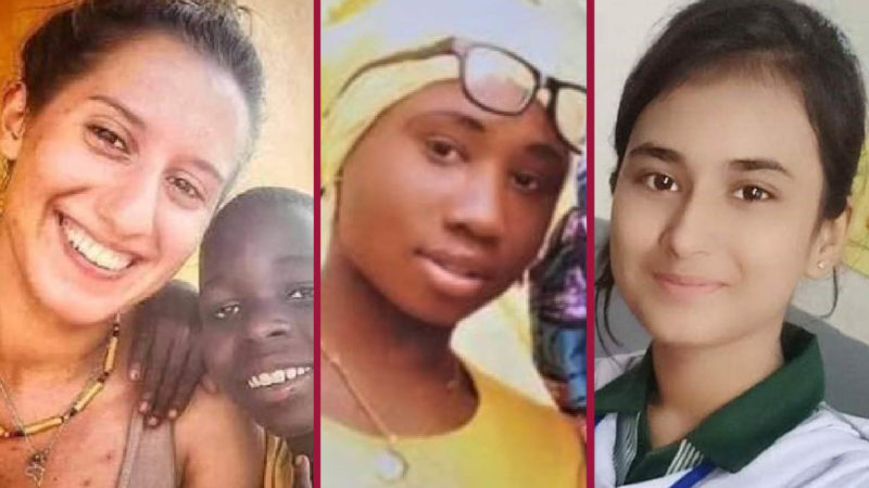 Nightmare Christmas for Silvia, Leah, Huma: Teens in the Fierce Jihadists' Claws