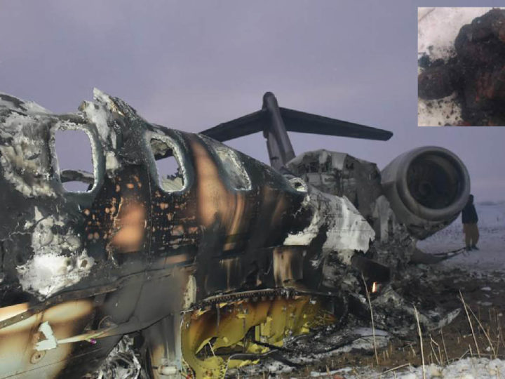 "Americans' Carnage on CIA JET in Afghanistan. ""10 victims"", Mujahideens' former commander wrote"