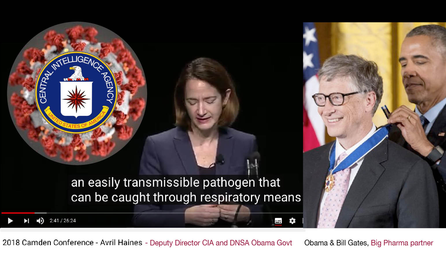 CoronaVirus BioWeapon – 6. Prophecy on Pandemic and NWO by Obama-Biden CIA's Queen
