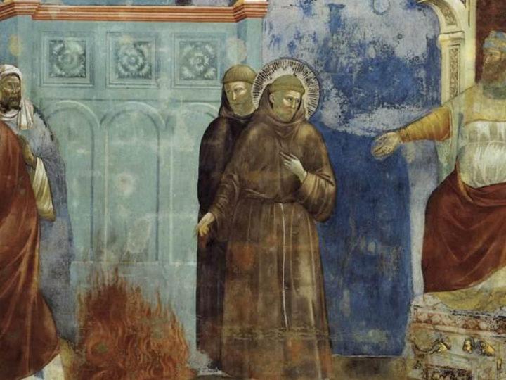 Faith's Great Meeting: Christian St. Francis and Muslim Sultan Melek