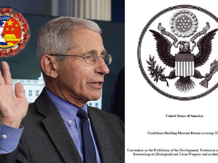 WUHAN-GATES – 7. Bio-Weapons Dossier. Pentagon & Fauci 28 Us Labs' Secrets. Dangerous Tests with CoronaVirus
