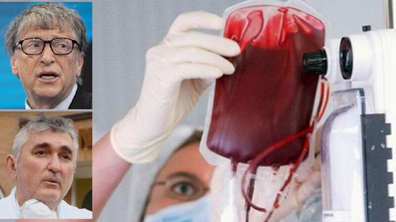 Plasma-Therapy for SARS-2 in Bill Gates' Claws through Italian & Israeli Big Pharma