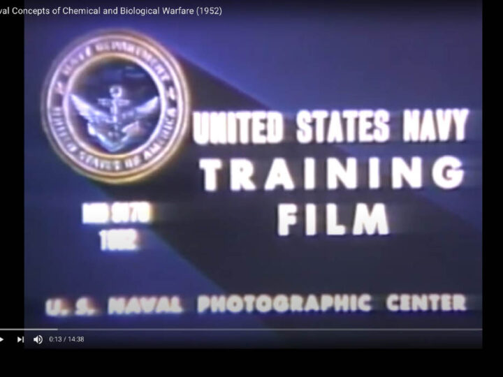 Exclusive. US NAVY Bio-Warfare Started in 1952: Declassified Disturbing Video