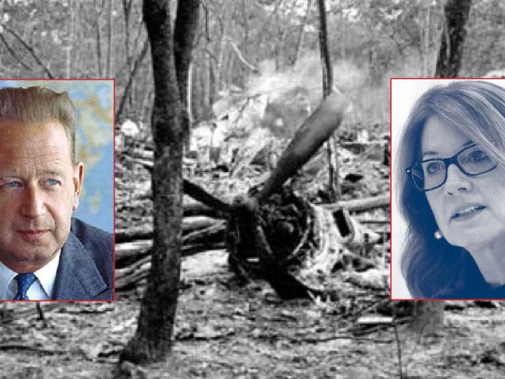 UN SG Hammarskjold Killed Twice by DEEP STATE. UK Intel Hinders the International Inquiry