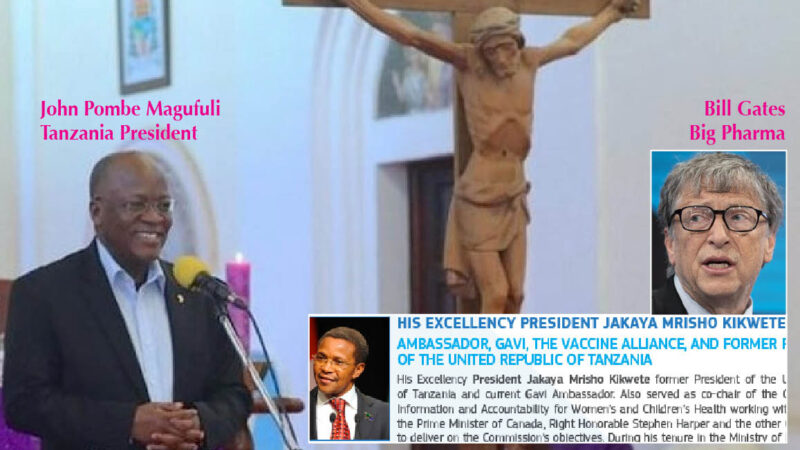 "WUHAN-GATES – 14. ""Devil's CoronaVirus: Western Plot Eliminated by GOD In Tanzania"". Christian President on BBC. His rival in Gates-EU Vaccine-Summit"