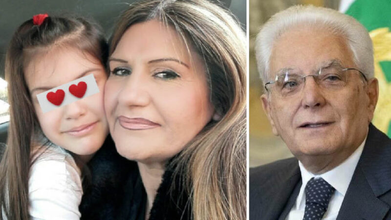 "Heart-Sick Child ""Kidnapped"" by Italian State: Republic's President Refused to Help Mother"