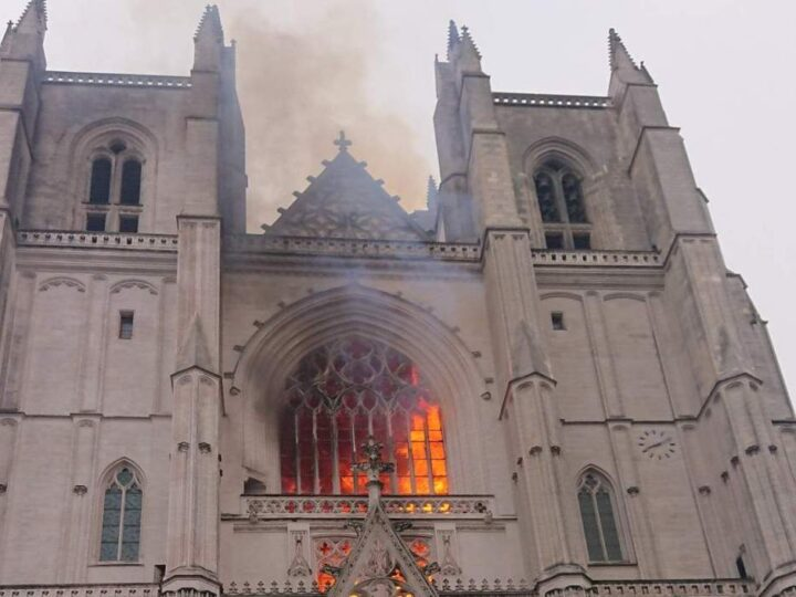 Nantes Cathedral's Arson: African Arrested after Confession