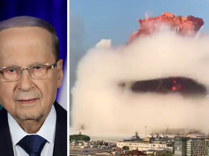 """""""Beirut Massacre for a Missile!"""". Lebanon President and Italian Military Expert said. """"Thermal rings the proof"""""""