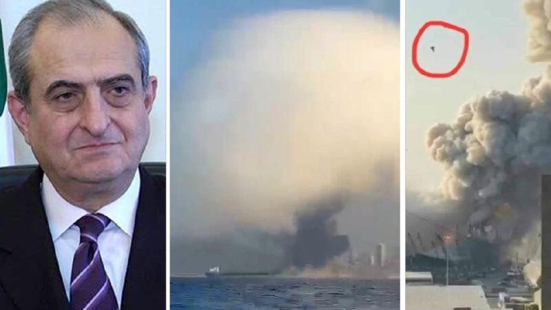 "Beirut: ex CIA 007: ""Alleged IsraelI Attack"". Christian Party secretary Killed. 100 more deaths. Italian marines injured."