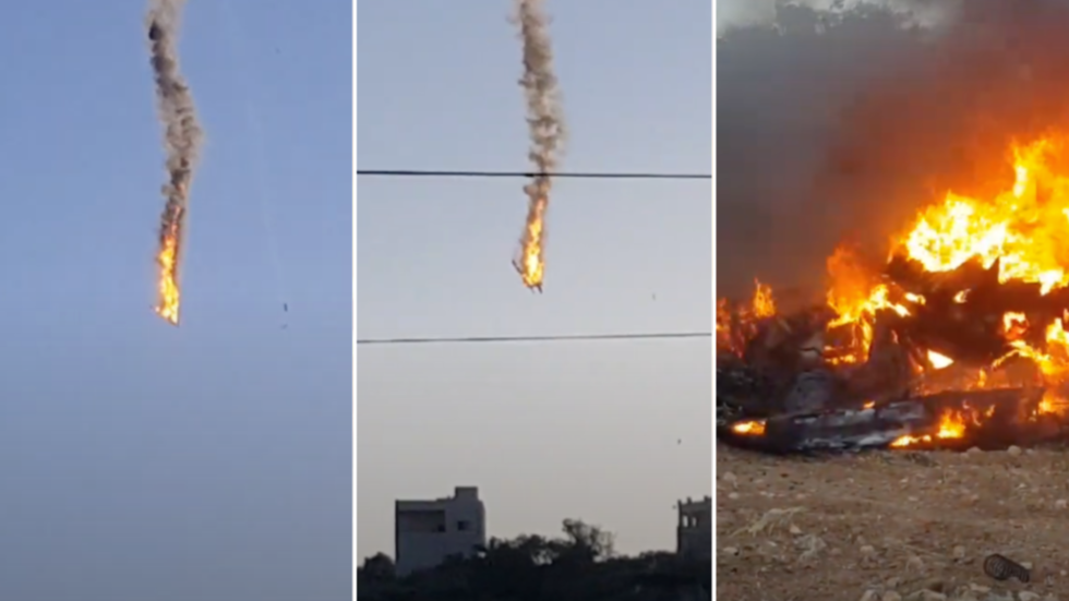 Two American drones reportedly COLLIDE & go down over Syria's Idlib (video)