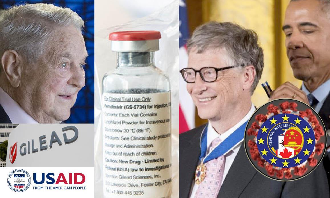 WUHAN-GATES 17. Gilead's Billionaire Antiviral vs Covid: Gates-CIA prophecy, WHO-Soros affairs. French Parliament investigates…