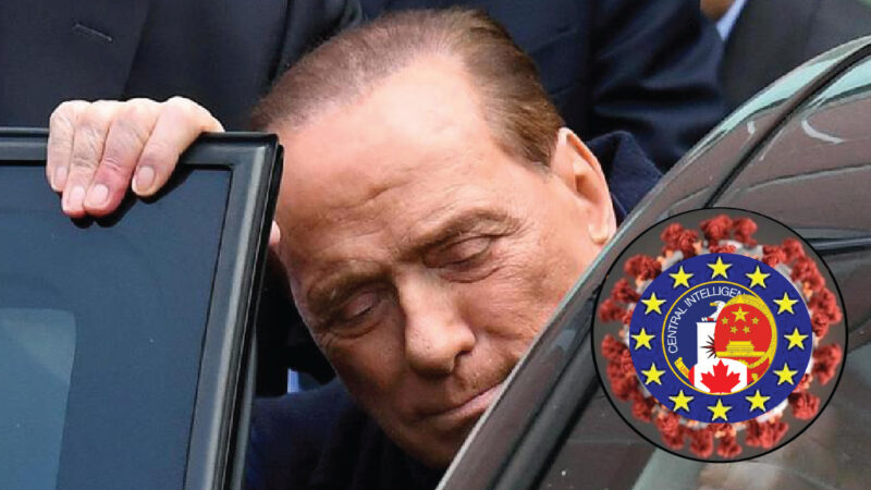 SARS-2 Bio-Weapon in Italy Hit Right-Tycoons. After F1 manager Briatore Now Hospitalized ex PM Berlusconi
