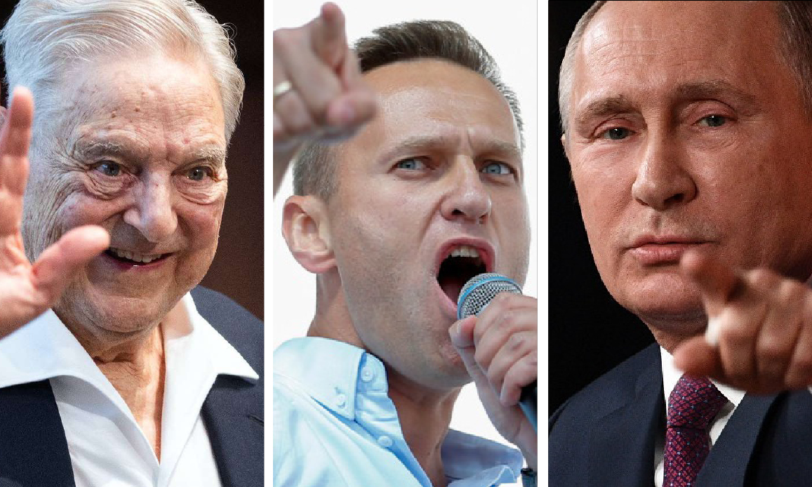 Navalny, Deep State Agent in Russia, in Novichok Berlin-Warsaw Plot Revealed by Belarusian Intel