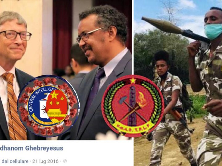 WUHAN-GATES – 24. WHO & Pandemic in Gates-China's Puppet Hands: Dr. Tedros Leader of TPLF, Islamic-Communist Rebels blamed of Last Massacre in Ethiopia by Amnesty