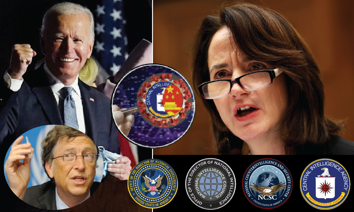 WUHAN-GATES – 25. At Us Intelligence's Top the Prophetess of Pandemic & NWO. Biden rewards ex CIA Haines: led Gates' Drill Event 201
