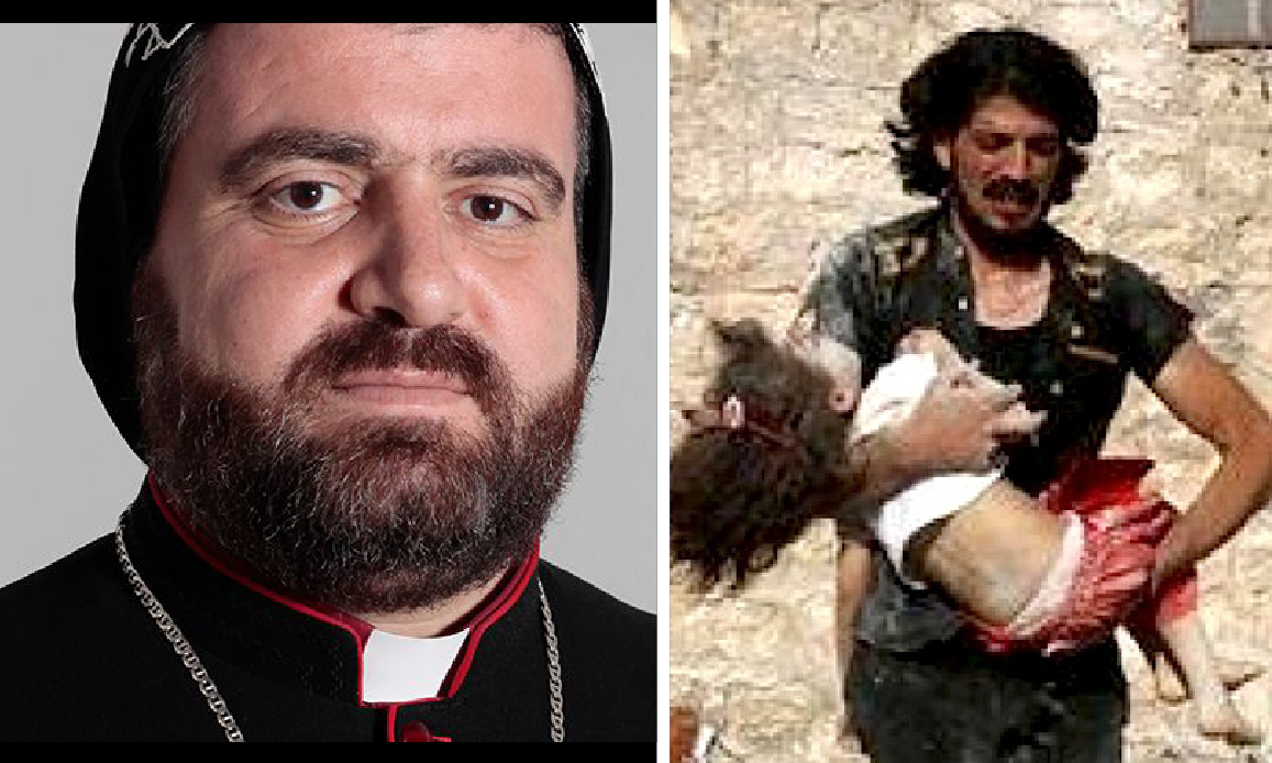 Syria mourns Homs Bishop who helped Christians Persecuted by Isis-Al Qaeda Terrorists CIA-Turkey backed