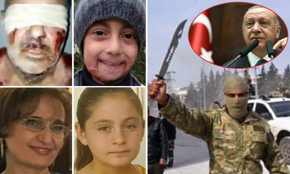 Afrin, Erdogan's Syrian Hell under NATO's Shield. 188 Tortured to Death, 127 Raped (among whom Disabled Minors) by Turkish-backed Jihadists