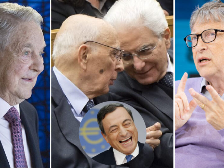 NWO's Plot against Italy (X-file 1). Four Puppeteers behind New Draghi Govt & Technical Ministers