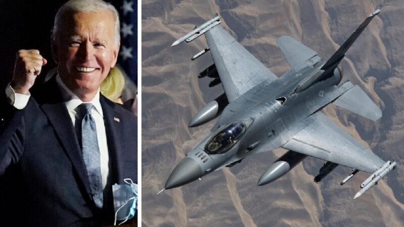 BIDEN's WAR STARTS IN SYRIA. US Air strikes against Iran-backed militia