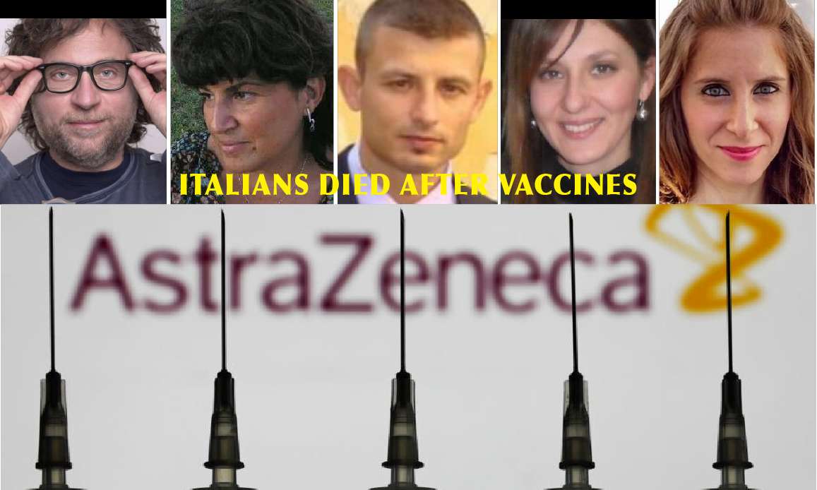 Vaccine Suspended in Canada and Germany too… AstraZeneca admitted Thrombosis' Risks, so changed Serum's name