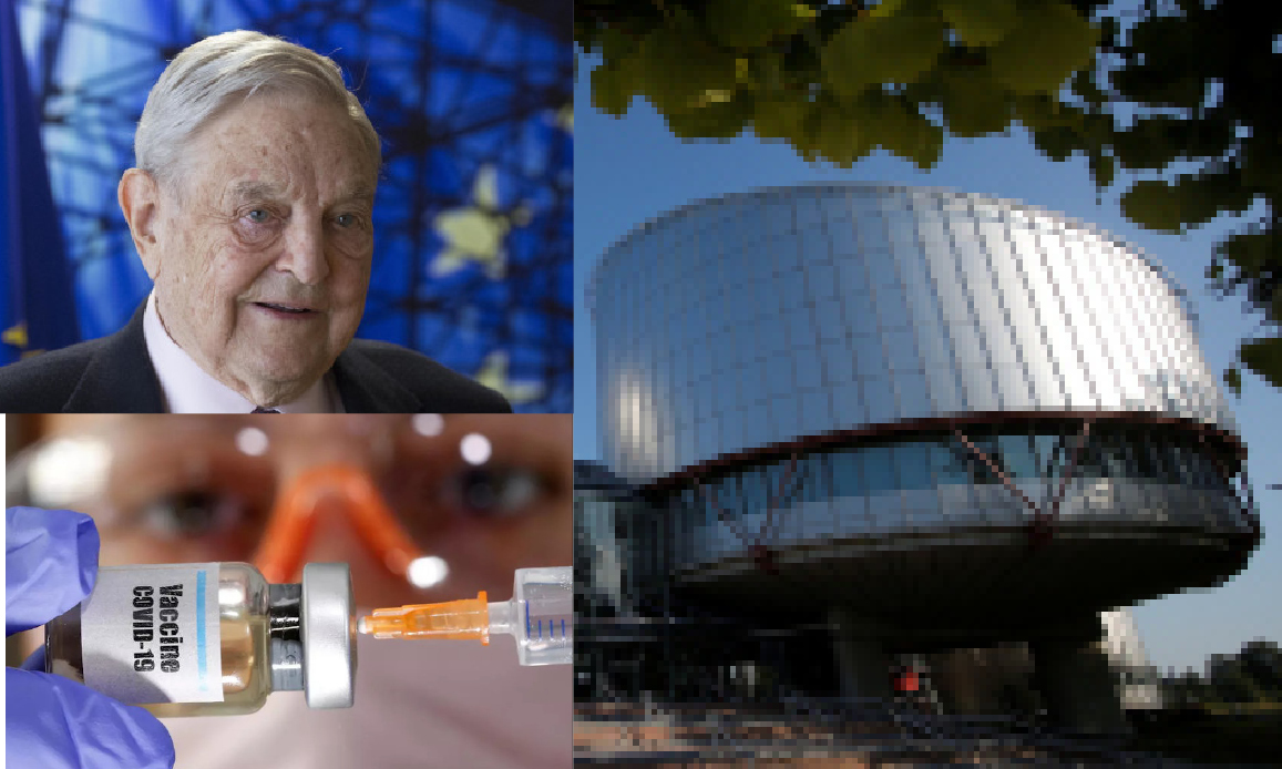 """""""Mandatory vaccines are Democratic"""" Ruled European Court of Human Rights linked to Soros"""