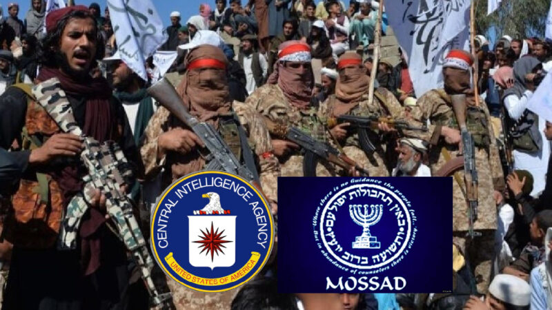 CIA, Mossad & Talibans in Jihadist's New Empire to Use Afghanistan against Iran and Russia