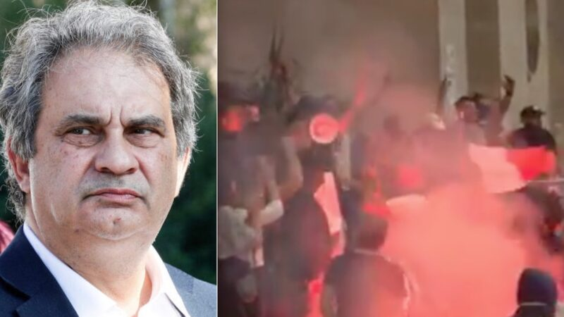 Chaos Green Pass in Italy: Assault on the Union's Headquarters by a Far-right Extremist former MI6 Agent. Police Official suspended for Protests