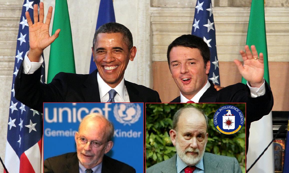 SCANDALO FONDI AFRICANI UNICEF SOTTO IL SEGNO DEI DEMOCRATICI ITALIA-USA