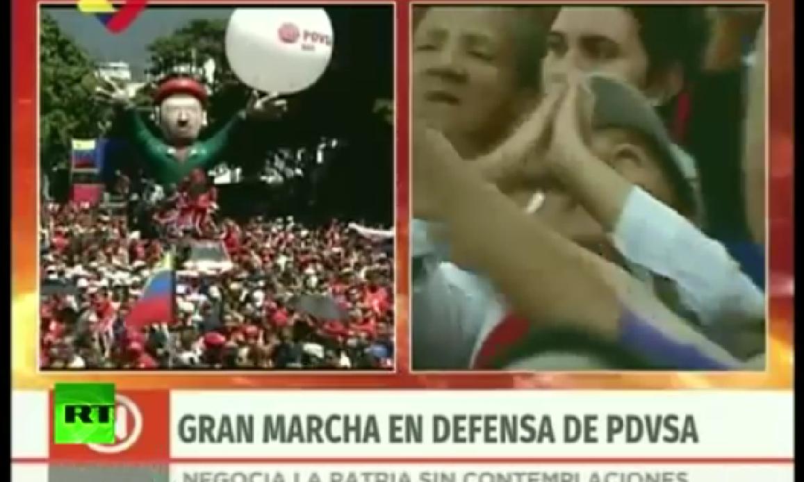VENEZUELA, MIGLIAIA IN MARCIA PRO MADURO: CENSURA MEDIA