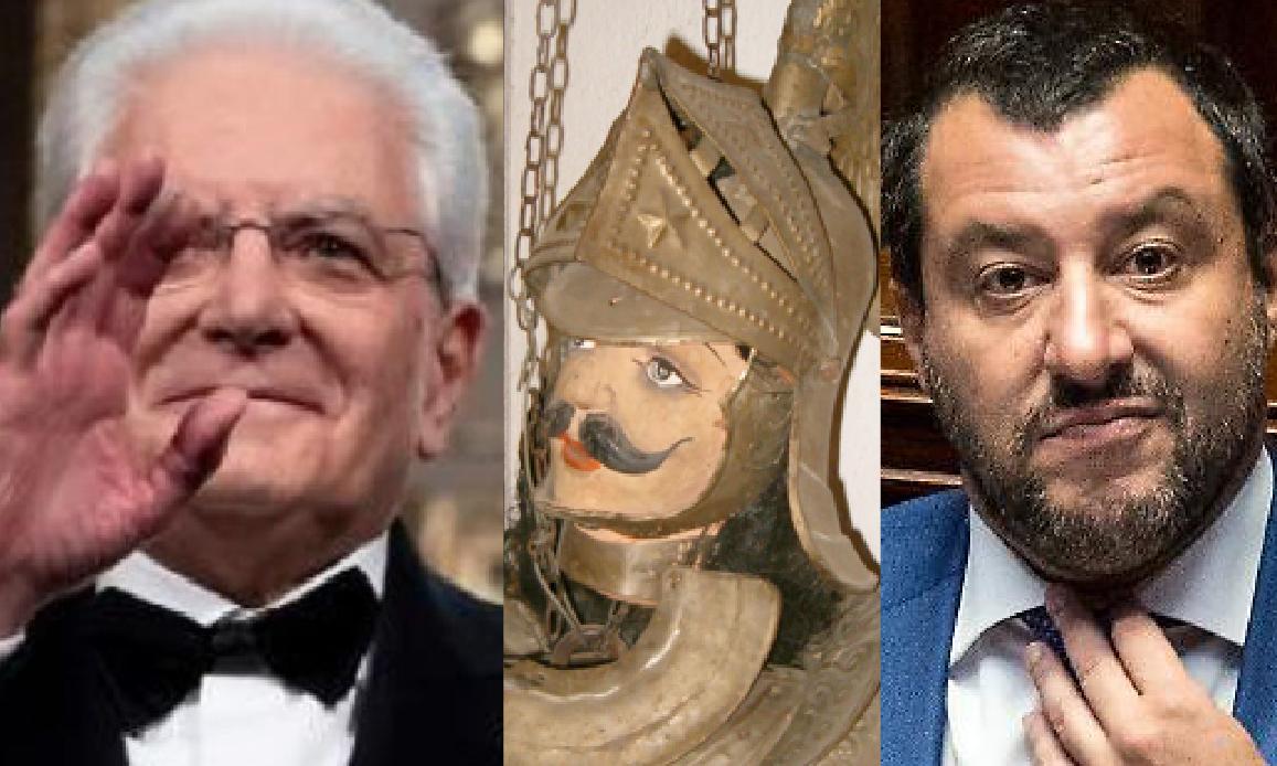 IL PUPO SICILIANO E LE MARIONETTE D'ITALIA