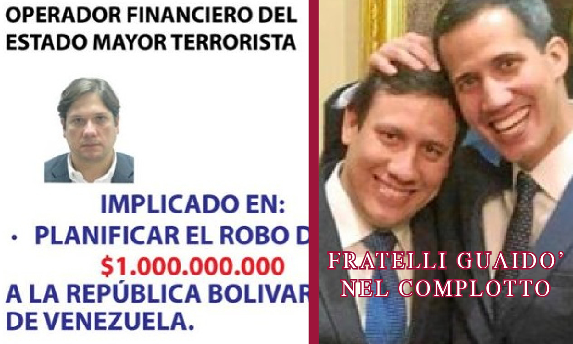 VENEZUELA: AVVOCATO CUGINO DI GUAIDO' E KILLER LATITANTE IN MANETTE,