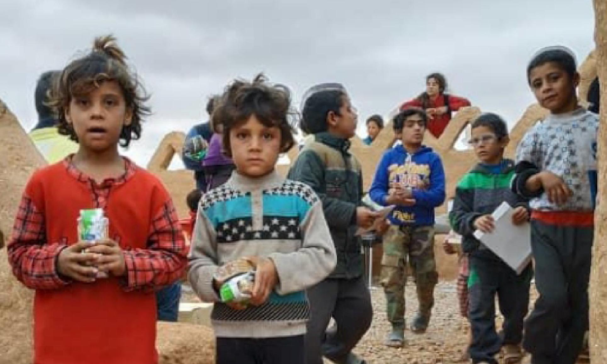 ALTRI BIMBI MORTI NEL LAGER DEGLI USA IN SIRIA