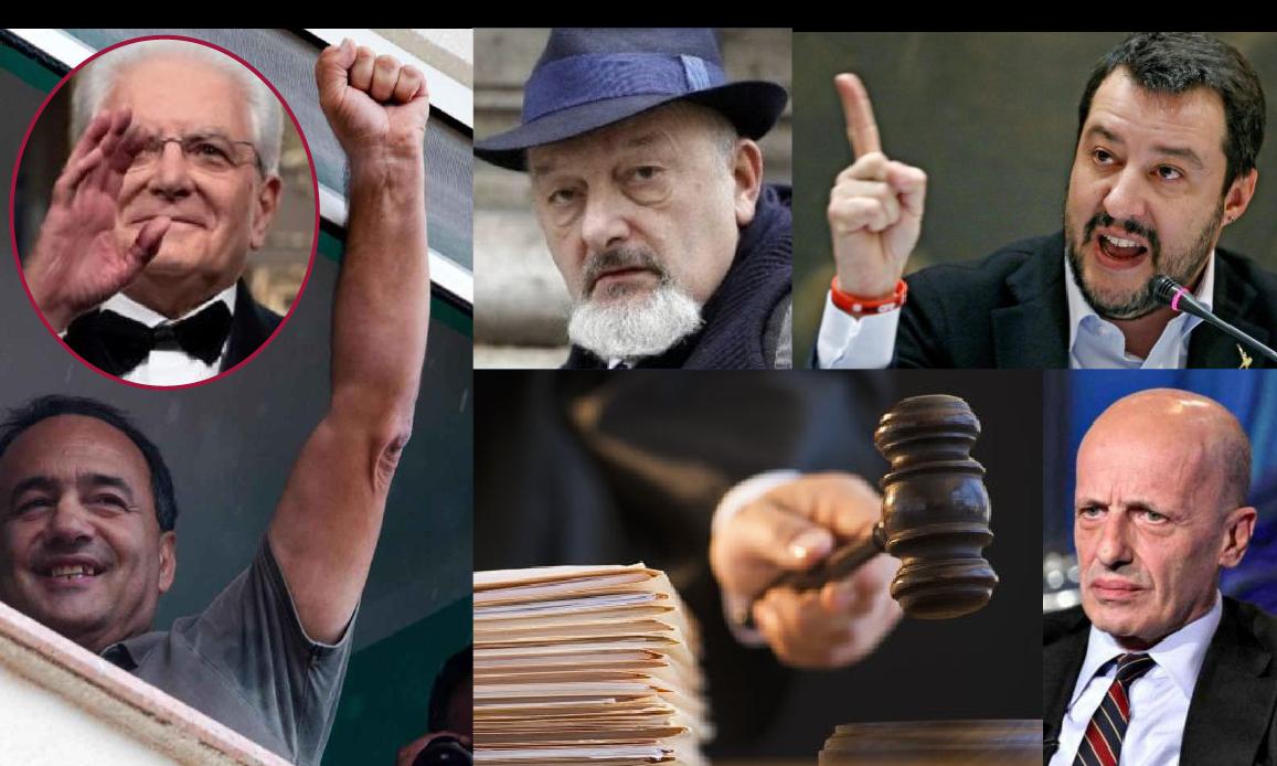I RENZI SUBITO LIBERI COME LUCANO. GIUSTIZIA… MATTARELLA!!!