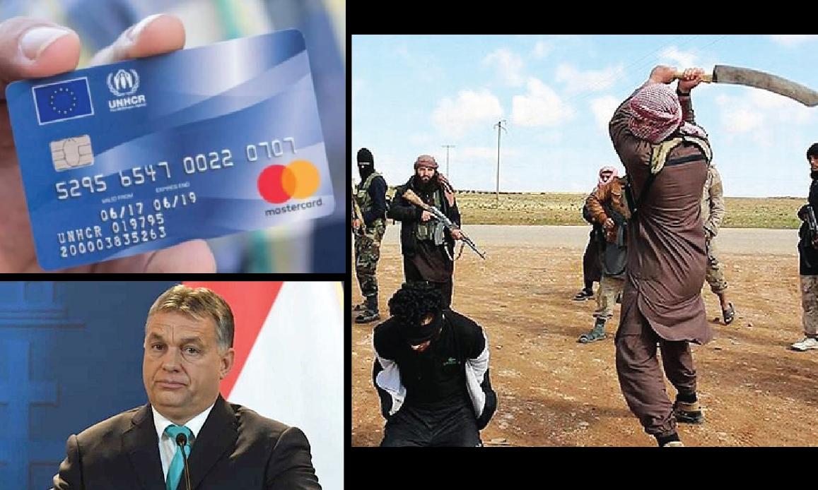 TERRORISTA ISIS CON CARTA DI CREDITO UE: UNGHERIA CONTRO BRUXELLES