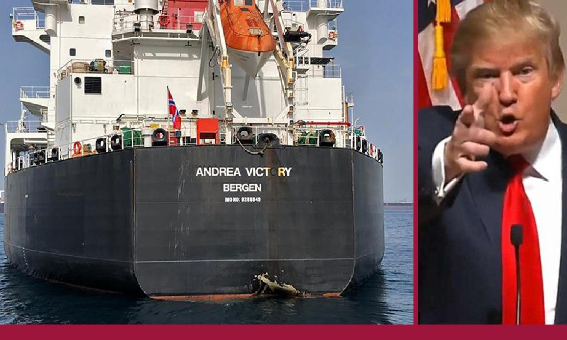 USA-IRAN: NESSUNA PROVA DI SABOTAGGI ALLE PETROLIERE ARABE