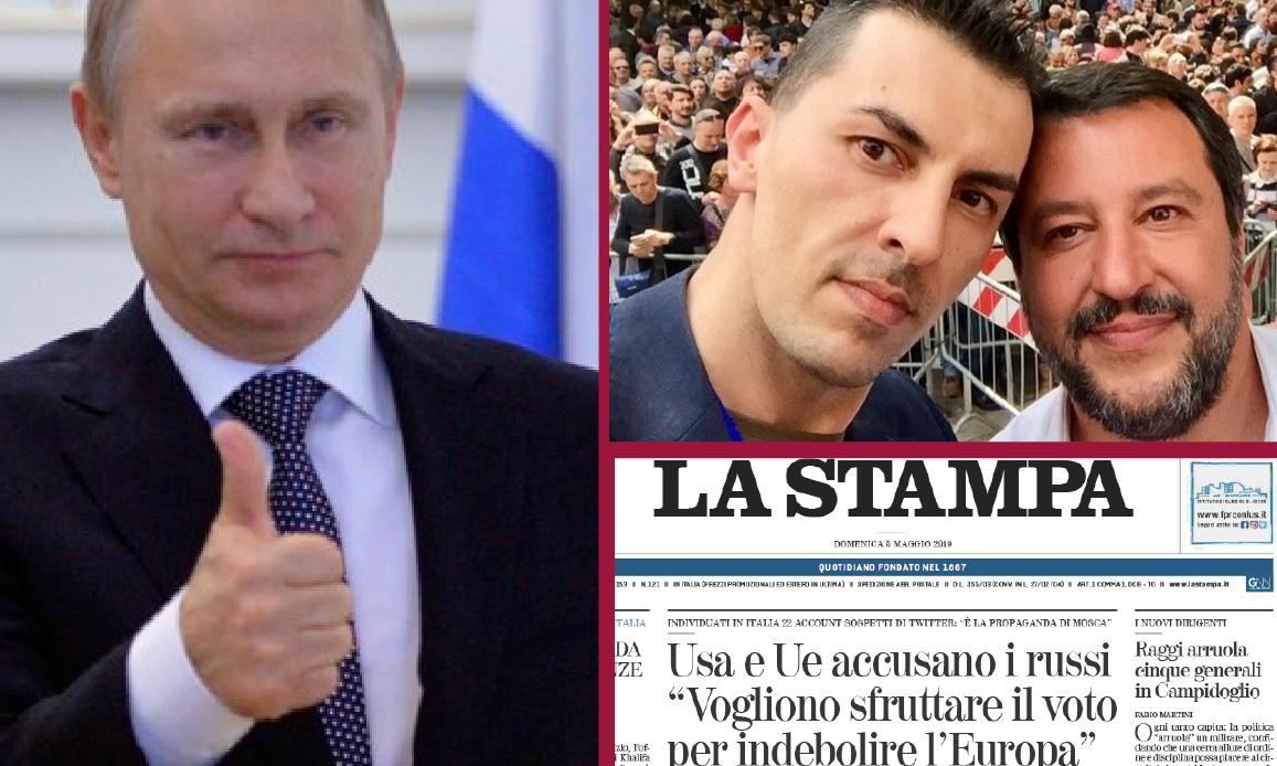 RUSSOFOBIA SUI MEDIA MONDIALISTI: ATTACCO AL GRUPPO FB AMICI DI PUTIN