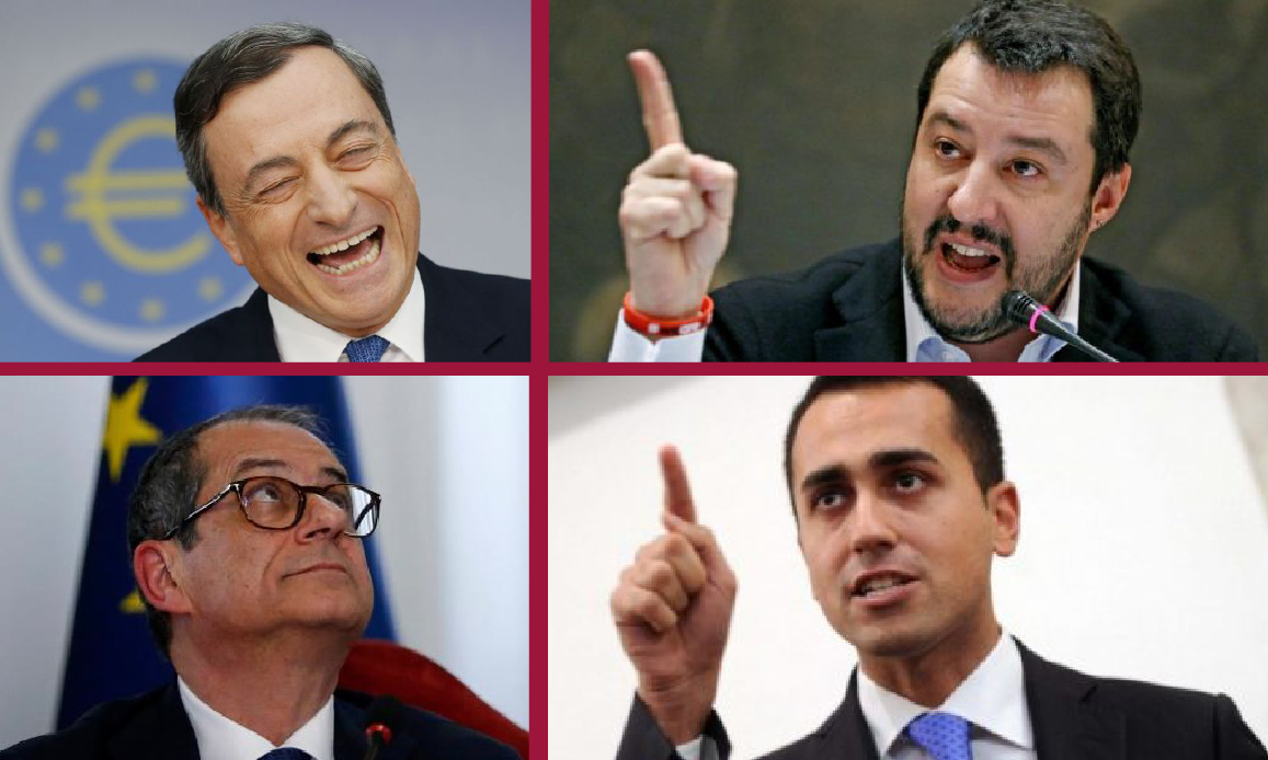 DRAGHI CONTRO I MINIBOT, TRIA OBBEDISCE E TRADISCE L'ITALIA