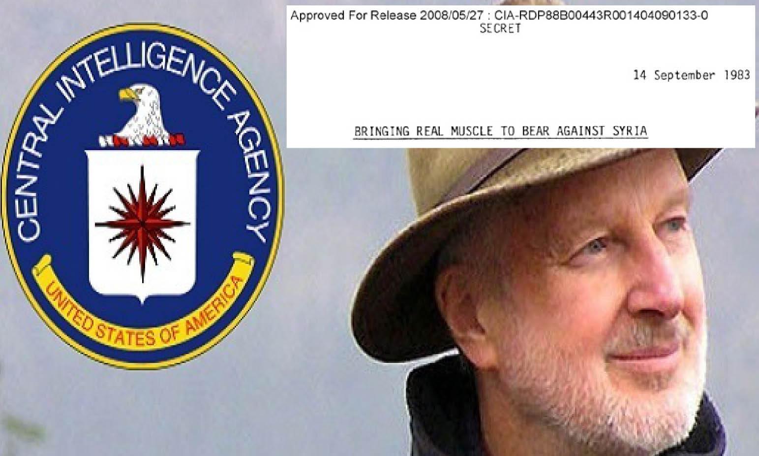 Siria 10 anni dopo. CIA TOP SECRET FILE: guerra USA pianificata dal 1983