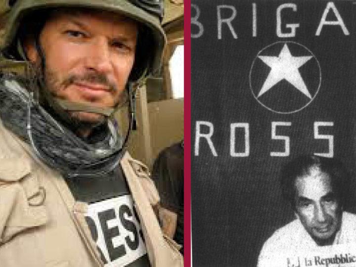 REPORTER DI GUERRA CENSURATO DAI NAZICOMUNISTI: nipotini del brigatista Curcio protetti dai padrini di sinistra