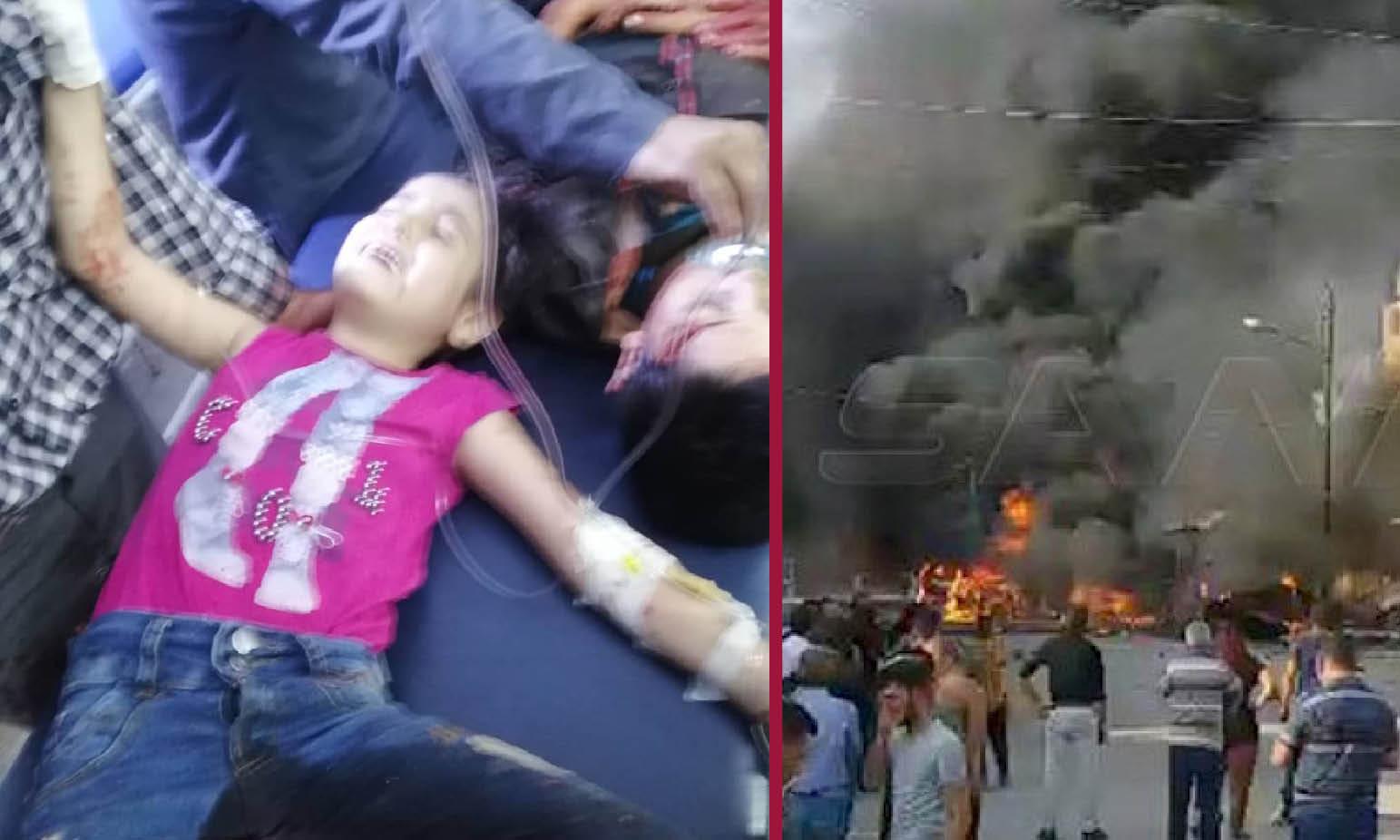 SARA, BAMBINA MARTIRE IN SIRIA. Cristiani tra due fuochi. Rojava senz'acqua. Autobomba Isis