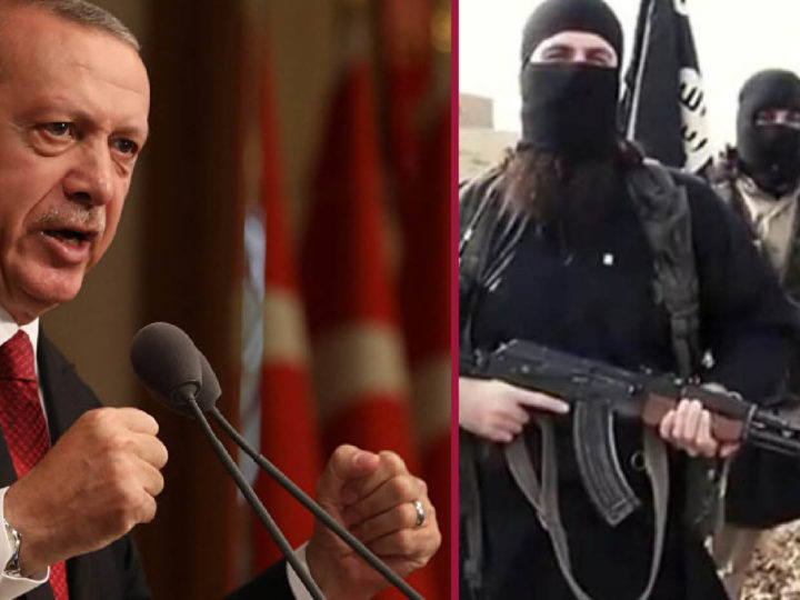 SIRIA: ERDOGAN ATTACCA IL ROJAVA PER DARLO AI JIHADISTI. Allarme prigionieri ISIS nel dossier Usa