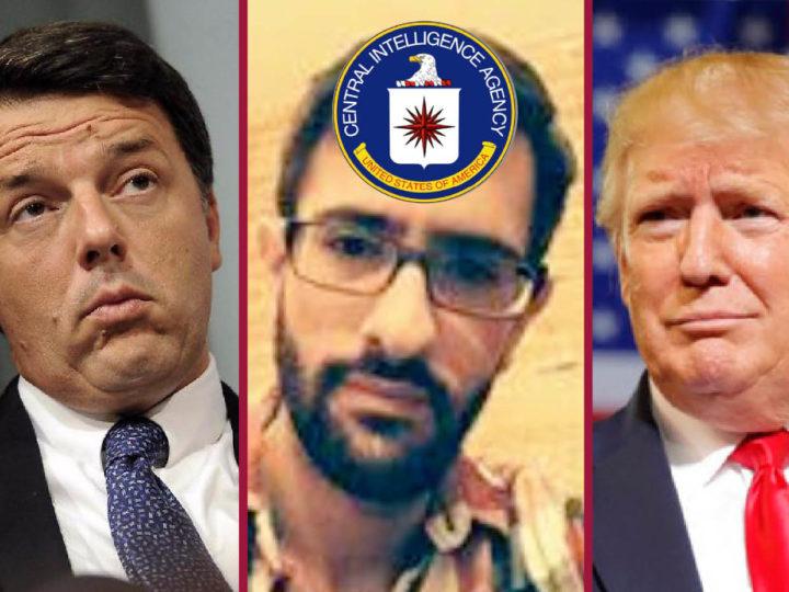 UKRAINEGATE, COMPLOTTO DEEP STATE CONTRO TRUMP: tra i due informatori CIA spunta anche Renzi
